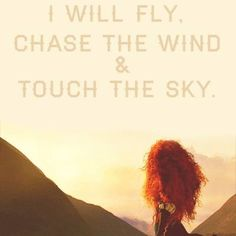 Brave - This is relevant to my person because those words are very inspiring, and some of Darla's quotes are inspiring and brave.