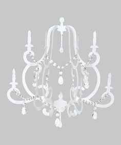 Add this elegant chandelier to any room for a unique accent. The ornate details and classic design are sure to look great with any existing décor.