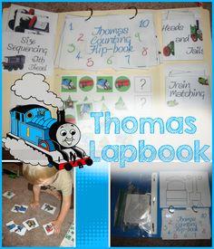 Thomas The Tank Engine Preschool Lapbook