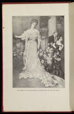 Frontispiece from The house of mirth · Wharton, Edith, 1862-1937 · 1905 · Albert and Shirley Small Special Collections Library, University of Virginia.
