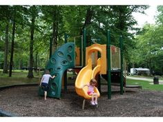 Levi Jackson- this is on Ky.State Parks page,Levi Jackson, Mallory and Sophia playing on the slide.
