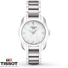 Tissot Womenu0027s Watch T Wave Diamond Dial T0232101111600  For Her