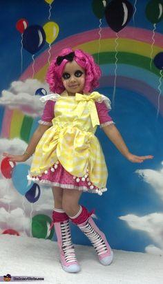 Lalaloopsy Crumbs Sugar Cookie - Halloween Costume Contest via @costumeworks