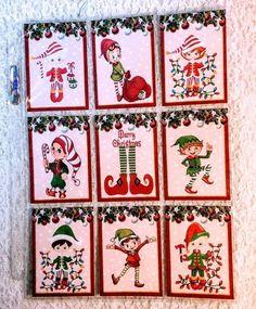 Set of 9 Cards~Easter Kids~Vintage~Pocket Pen Pal Cards only~No Protector~#103N