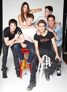 Vampire Diaries - Photo Gallery: Stars Visit TV Guide Magazine's Comic-Con Yacht