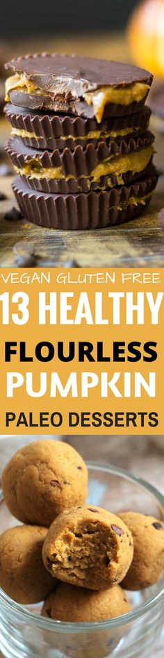 Thanksgiving desserts that are gluten free and paleo. Easy holiday treats for seasonal celebrations. Paleo Pumpkin Pie, Gluten Free Pumpkin, Gluten Free Baking, Gluten Free Desserts, Dairy Free Recipes, Pumpkin Recipes, Gluten Free Thanksgiving, Thanksgiving Desserts, Easy To Make Desserts