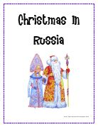 russia. christmas around the world ideas.