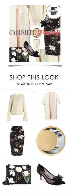 """""""Cashmere- all things stylish"""" by no-where-girl ❤ liked on Polyvore featuring TIBI, Esme Vie, River Island, Fornasetti, Dolce&Gabbana, Nina and cashmere"""
