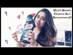 Which Bleach Cleaner Do I Recommend? Girls Channel, Bleach, Youtube, Youtubers, Youtube Movies