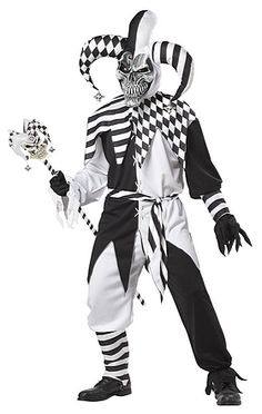 Click Image Above To Purchase: Nobody's Fool Jester Adult Costume - Halloween Costumes Evil Jester Costume, Halloween Costumes For Sale, Halloween Circus, Spirit Halloween, Halloween Party, Halloween Dress, Boy Costumes, Adult Costumes, Costume Ideas