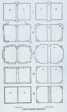 DIY Pocket Paper Portfolioby Bookbinding.com (This website offers many tutorials, includingPocket Paper Files, Desk Paper Files, Note Book Covers, Rebound Book, Bound Magazines etc)
