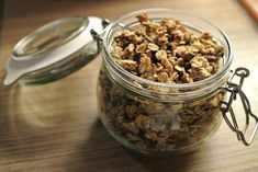 Granola au sirop d'agave et chocolat – Goonora Agaves, Granola, Cereal, Breakfast, Blog, Syrup, Chocolates, Morning Breakfast, Meal