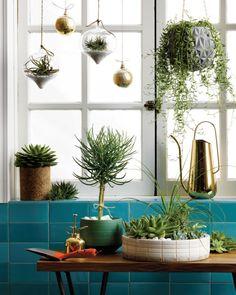 glisan grey hanging planter