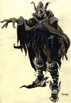 Ralph Bakshi Lord of the Rings   ... art from Ralph Bakshi's Lord of the Rings.Concept art by Mike Ploog