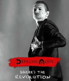Dave - Where's the Revolution Heavy Metal, Good Music, My Music, Find A Song, Enjoy The Silence, Martin Gore, Dave Gahan, Lyric Art, Indie Pop