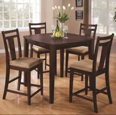 High Top Table Set Designs For Trendy Home & high top kitchen table set | House | Pinterest | Kitchen table sets ...