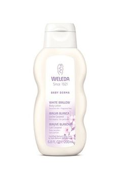 """58 Products That Give You Instant Results #refinery29  http://www.refinery29.com/fast-improving-beauty-products#slide-2  """"Made for babies, this super delicate lotion cannot be beat for dry skin. It soothes any itchiness on contact and leaves behind a baby-butt-soft feel on your skin. My husband has psoriasis and it's amazing on calming flare-ups and diminishing redness. I have to buy two bottles at a time or else he'll steal mine.""""— Megan McIntyre, beauty features directorWeleda Baby Derma…"""