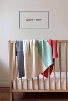 koko's nest | Baby's First Blanket