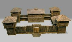 Small Soldiers, Toy Soldiers, Chateau Fort Jouet, Civil Engineering Works, Wooden Fort, Forte Apache, Château Fort, American Revolutionary War, Le Far West