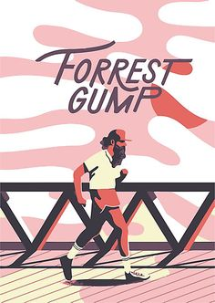 Buy this artwork on wall prints, apparel, mugs, t-shirts, bags, phone case, scarf, leggins, stickers, and much more.  Forrest gump, vector art, movie, minimal, Horror,  movie, run forest, movie poster, poster ,graphic art, minimalist, vintage, retro, film, run forest run, 1990's