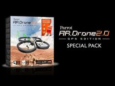 New Limited Edition Parrot AR.Drone 2.0 GPS Edition | Parrot news