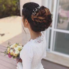 37 Glamorous Updos for Bridesmaids 2018