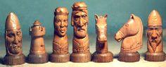 Nancy Tuttle Chess pieces