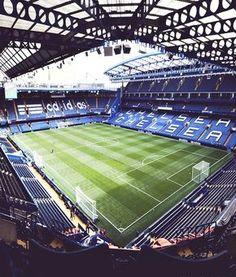 Stamford Bridge Chelsea Football stadiums I would like to visit Chelsea Fans, Chelsea Football, Chelsea Stadium, Soccer Stadium, Football Stadiums, Cr7 Football, Stadium Tour, Chelsea Fc Wallpaper, Travel