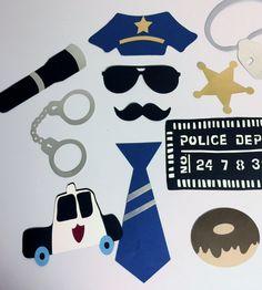 Policier retraité agent de police law par Thepartypitstop sur Etsy