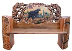 log furniture | Home Collections Log Furniture Collection Log Benches Carved Log Bench