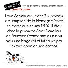 Louis Sanson la prison lui sauve la vie