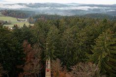 Treetop walk, Neuschoenau, Germany