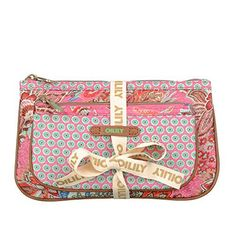 Oilily Jatin Flowers Flat Cosmetic #Bag Package in Rose  Price : $44.00 http://www.whimsicalumbrella.com/Oilily-Jatin-Flowers-Cosmetic-Package/dp/B00KGR2GTK