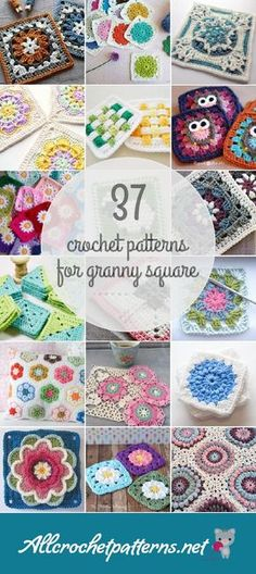 37 Granny Square Crochet Patterns - Page 4