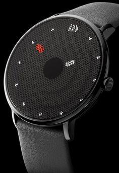 Danish Design Danskreen Black Watch looks differen Mochila Oakley, Cool Watches, Watches For Men, Stylish Watches, Datejust Rolex, Mode Masculine, Beautiful Watches, Danish Design, Men's Accessories