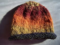Easiest knit baby hat ever!!.