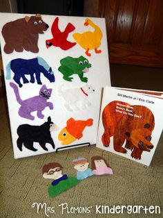 Help young students ddevelop story sense and retelling skills with this super simple DIY Felt Board for Story Retelling