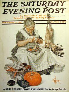 Vintage Magazine - Saturday Evening Post