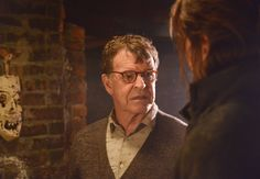 """2/ SLEEPY HOLLOW: John Noble (L) guest-stars in """"The Sin Eater"""" episode of SLEEPY HOLLOW airing Monday, Nov. 4 (9:00-10:00 PM ET/PT) on FOX. ©2013 Fox Broadcasting Co. CR: Brownie Harris/FOX"""