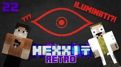 [Minecraft] Retro Hexxit - ep. 22 - OBJAVILI SME SVET ILUMINÁTOV!