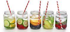 10 recettes d'eaux détoxiquantes et amincissantes