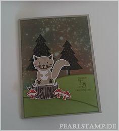 Fuchskarte mit den Foxy Friends.
