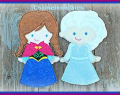 Handmade felt paper dolls – Etsy