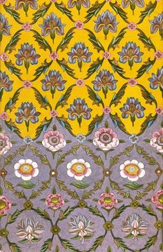 """patternbase:  Indian textile design from the 18th century. via gurlpwr  """