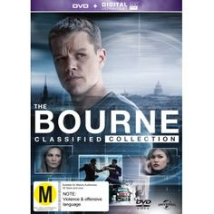 The Bourne Quadrilogy (DVD/UV) | DVD | On Sale Now | at Mighty Ape NZ $23 (was…