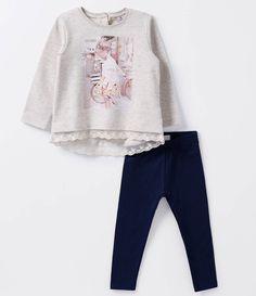 Conjunto Infantil      Calça legging      Manga longa       Com estampa       Gola redonda       Marca: Póim      Tecido: moletom          COLEÇÃO INVERNO 2016       Veja outras opções de    conjuntos infantis.              Póim Menina      Sabemos que de 1 a 4 anos de idade, o que vale é o gosto da mamãe. E pensando nisso, a Lojas Renner, possui a marca Póim para meninas, com vestidos, saias, shorts e camisetas com muita referência de moda com as personagens preferidas dessas crianças!