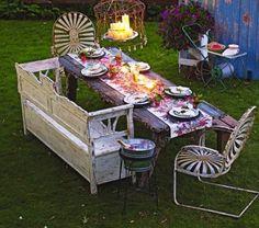 boho tea party
