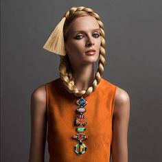 @dariastrokous for David Webb #jewelry campaign for fall