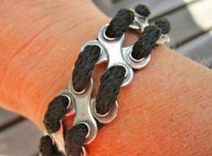 Cool bicycle chain bracelet