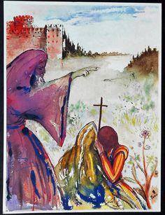 salvador dali romeo and juliet-illustrations 1975
